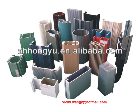 Aluminum Extrusion Profile/Section for Door & window