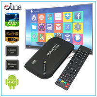 High quality Android 4.4.2 OS 1 GB DDR3 RAM DVB S2 Android tv box next digital satellite receiver