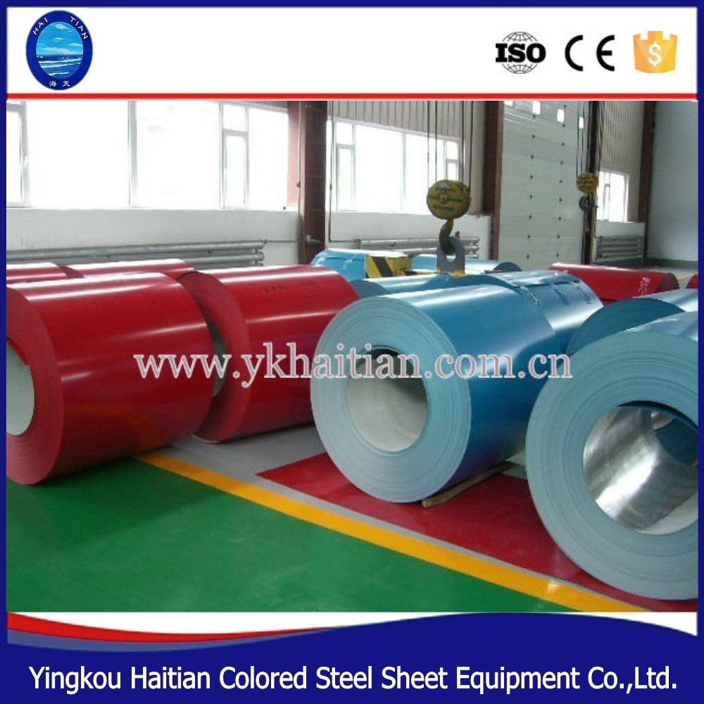 Color Prepainted Galvanized Steel Roofing Sheet in Coil , Color Coated Galvanized ,