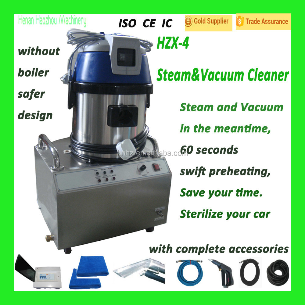 HZX-4 Steam&Vacuum What Type Of Business Is a Car Wash Machine/Vapor Steam Cleaner