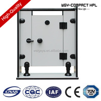 Modern waterproof phenolic hpl board toilet cubicle partition