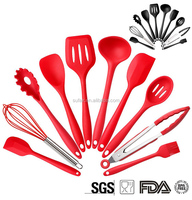 Amazon best sellers Dishwasher Safe Durable baking tools silicone kitchen cooking tools sets
