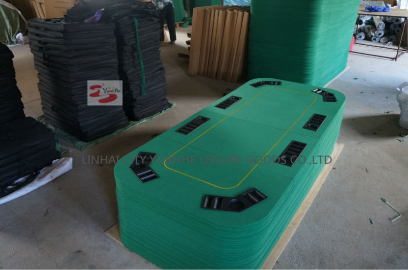 1 Side 79x36 polegadas Texas Hold'em Folding Poker Table Top