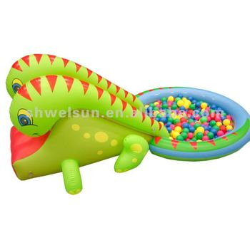 Inflatable Dinosaur Ball Pit