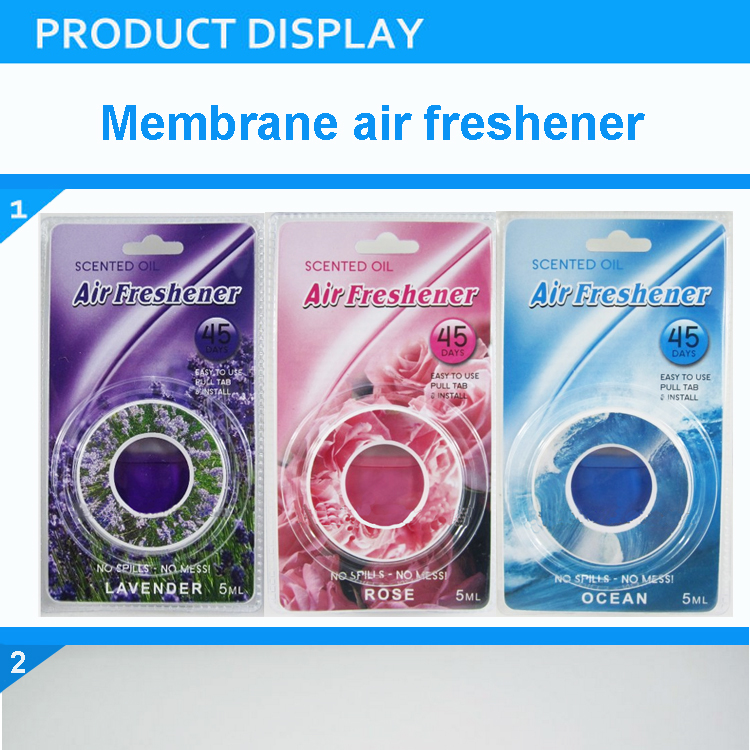 Membrane Vent Type Air Freshener-long lasting fragrance