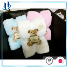 2016 charity teddy super soft blanket