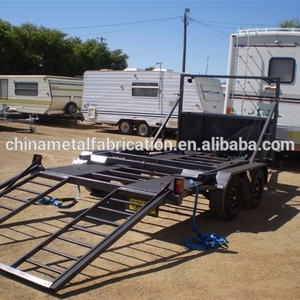 The Aluminum Car Towing Carrying Trailer By kinlife with 34 years experience in metal fabrication