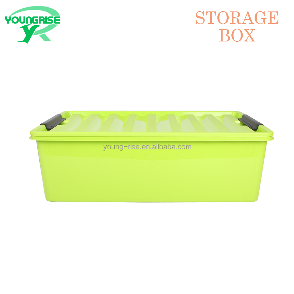 34 Liter Plastic Waterproof Underwear PP Storage Box Design With Lid