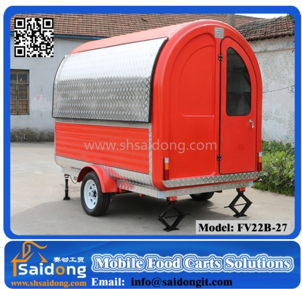 Snack Food Processing Machinery/Food Cart/Food trailer Supplier