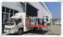 China best selling publicity car van with CE certificate