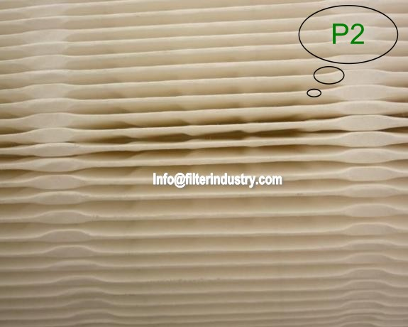 Automatic truck air filter paper pleating machine