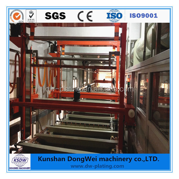 Automatic plating line chrome plating machine for wheels