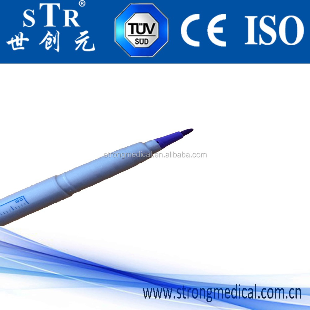 CE ISO OEM skin surgical marker pen with 0.5mm point