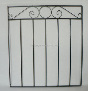 Garden Security Door/Garden Gate/Powder Coated Garden Gate