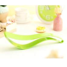 Wholesale custom colorful plastic cheese cutter wedding cake knife