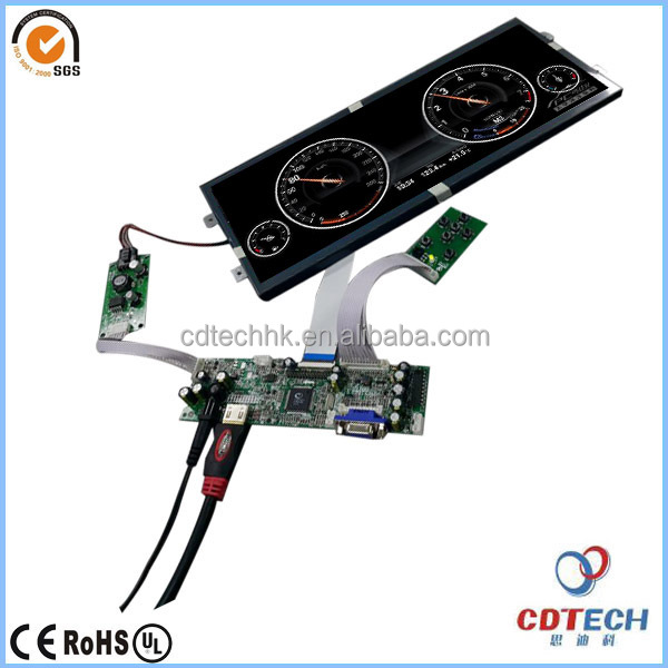 display LCD module dashboard,12.3 car tft lcd dashboard monitor, lcd display module for car universal