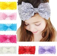 7PCS Girl Baby Headband Toddler Lace Bow Flower <strong>Hair</strong> Band <strong>Accessories</strong>