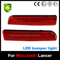 CARSEN 12V waterproof Auto Car LED Rear Bumper Light Reflector Brake rear Fog lamps light Mitsubishi lancer Accessories