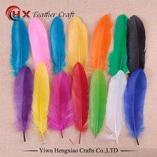 Factory Wholesale size 6- 8 inches 15-20 cm Cheap Dyed Goose Feather For Fascinator/Hat Decorate