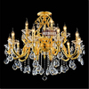 Large Crystal Chandelier Moern Lighting Crystal Hotel Chandeliers for Sale MD88008 L10+5