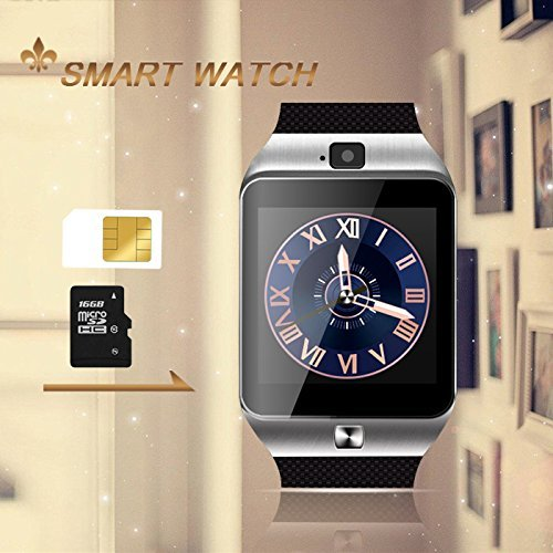 DZ09 Smartwatch With Front Facing Camera Smart Watch Phone Mobiles
