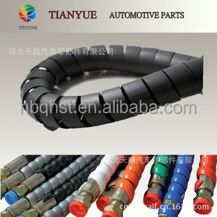 spiral guard/spiral protective sleeve/plastic spiral cable cover