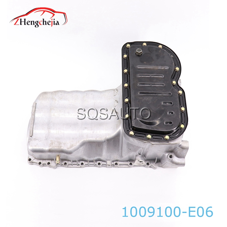 1009100-E06 China Auto Parts Sump Oil Pan  For Great Wall Haval