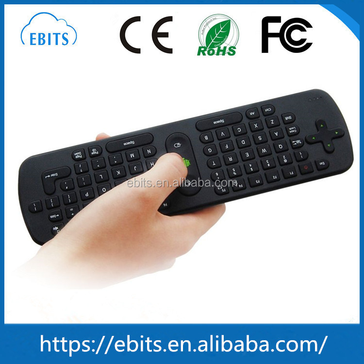 RC11 2.4G USB Wireless Keyboard Gyroscope Air Fly Mouse for Mini PC / Android TV Box