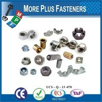 Made In Taiwan Standard Non-Standard Custom Bolt and Nut
