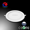 2016 newest 99.7% pure aluminium anti-scrathed downlight led 18w round shape 200mm hole size