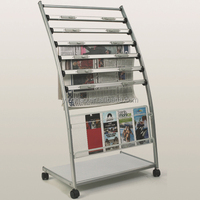 good quality 6 tier stand newspapers and magazines