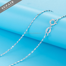 Factory Promotion simple women 925 sterling silver necklace