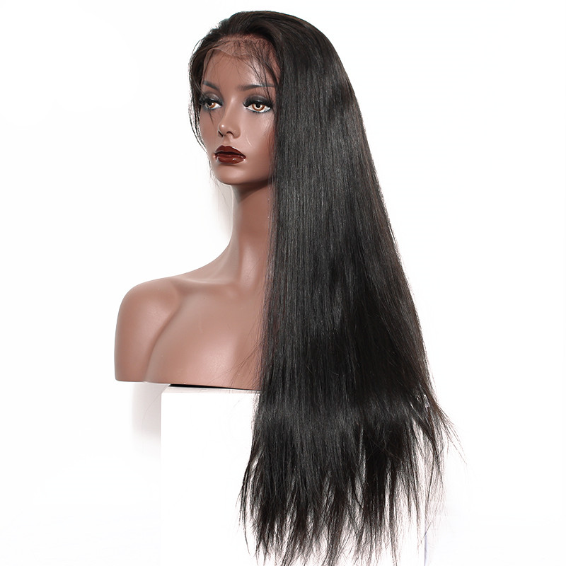 Brazilian virgin human hair wig, wig sewing machine with wig men price, free lace wig samples