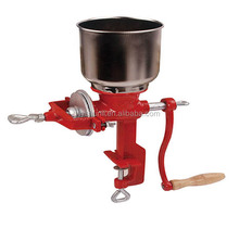 HAND OPERATED CORN GRINDER 500# 2016hot sale,manual corn grinder flour maker wheat grain nut mill , plastic spraying