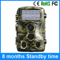 Waterproof 12MP Trail Scouting Camera for wildlife camera 1.5 years standby time Game Cam