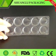 Clear Plastic Milk Slice Inner Packaging Tray