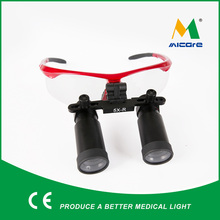 Neurosurgery 5.0X surgical Magnifying optical Glasses Magnifier Loupes