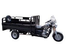 fashionable cargo motorcycle with three wheel