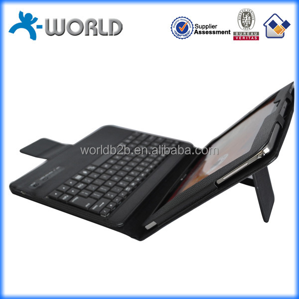 10.1 inch eco friendly pu stand keyboard tablet case for samsung tab 4