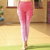 Ladies Seamless Gradient Color Stretchy Skinny