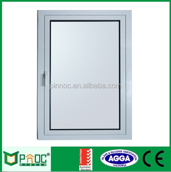aluminum French casement windows and doors with tempered glass