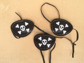 felt pirate eye patch