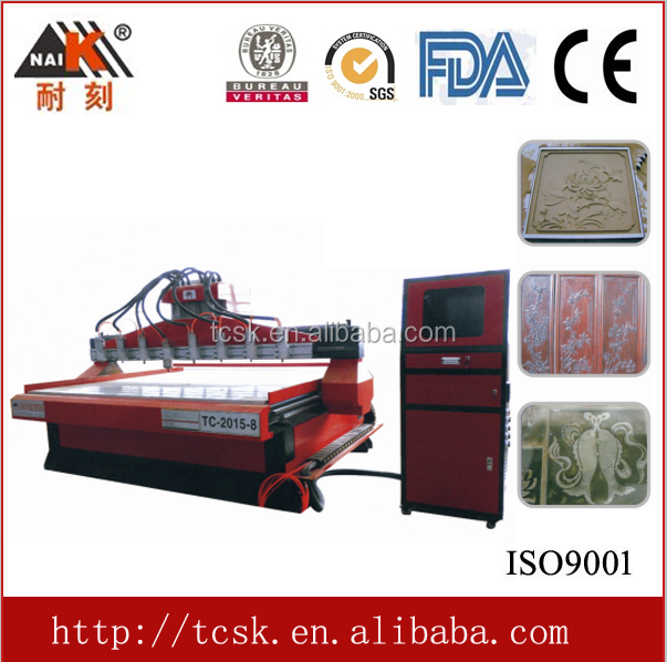 Famous Naik brand cnc router metal cutting machine for shoes mould