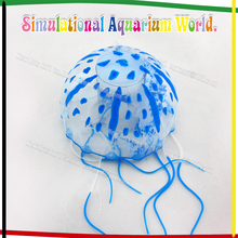 2015 hot fish tank/aquariium silicone artificial jellyfish decorations