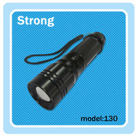 low price LED high power torch light; battery powered led strip light