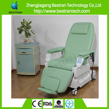 BT-DY003 with adjustable legs tubular steel dialysis furniture hospital chairs