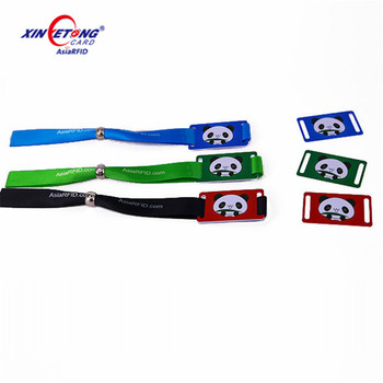 125khz TK4100 wholesale cloth fabric kids id bracelets for access control