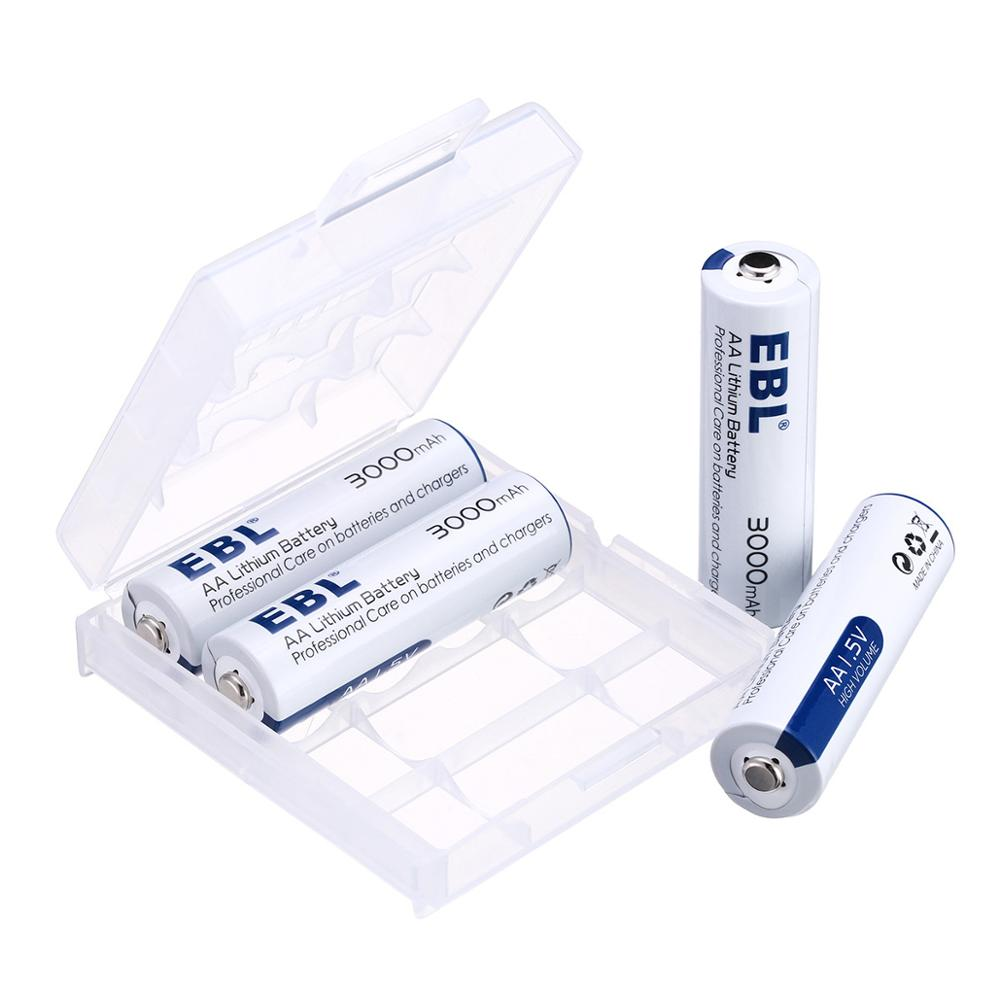 Newest 3000mAh AA Lithium Battery 1.5 V Small AA No-rechargeable battery