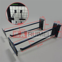 wholesale customized grid display hook metal display hanging hooks