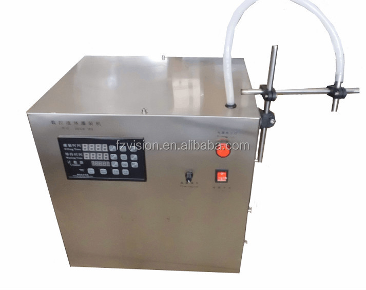 Professional Frequency conversion Electric Lubricating oil Filling machine 1L to 5L
